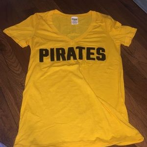 Victoria's Secret pink Pirates shirt